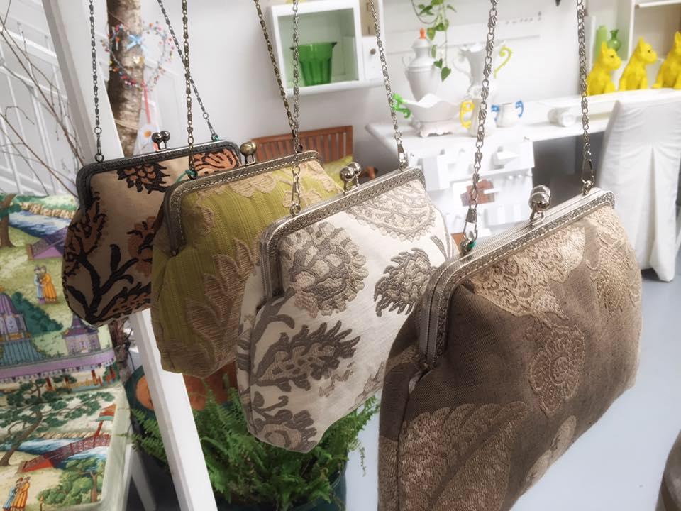 taglia 40 d1d22 cba54 A Treviso un atelier di borse fatto a mano con stoffe da ...