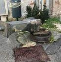 Fontanella divelta in Borgo Stolfi