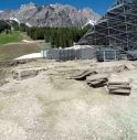 Cantiere a Cortina