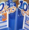 10eLotto, colpo di fortuna a Ormelle: un 9 da 20mila euro