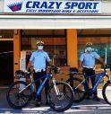 Polizia locale Vittorio Veneto in bici