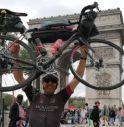 L'impresa di Angelo: da Vittorio Veneto a Parigi in bicicletta in 8 giorni