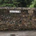 Vittorio Veneto, l'antico muro di via Labbi è