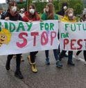 Il maltempo non ferma la Marcia Stop Pesticidi