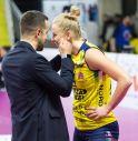 coach e capitano (foto Imoco Volley)