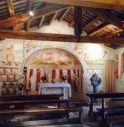 interno della chiesa di Castelcies