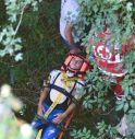 il ciclista soccorso