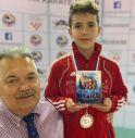 Giacomo Turcato (in foto con Miroljub Berak, organizzatore della competizione)