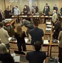 """Marcon giura da sindaco e il suo discorso sembra un """"ramoscello d'ulivo"""""""