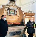 Trasferimento della sacra reliquia Santa Pucheria alla presenza del sindaco Davide Bortolato