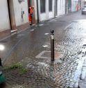 Contarina ripulisce portici e marciapiedi del centro di Castelfranco