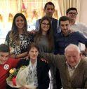 Un amore che non finisce mai: Giuseppina e Nazzareno festeggiano 70 anni di matrimonio