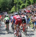 Il passaggio del Giro nel 2017