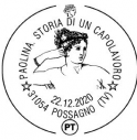 Annullo filatelico a Possagno