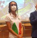 Enrica Piccoli, atleta della Nazionale Italiana di Nuoto Sincronizzato