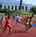 la pista vittoriese durante una gara giovanile