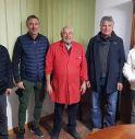 da sinistra Evaristo Beccalossi, Dino Baggio, Danilo, Dino Galparoli e Giancarlo Pasinato