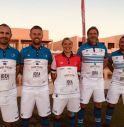 i 4 giocatori con la Campionessa Italiana 2016 e 2017 Francesca Zanchetta