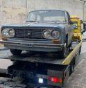 Conegliano, spostata la storica Lancia Fulvia: verrà restaurata ed esposta al Cerletti