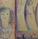 I dipinti di Alda Boscaro esposti alla Biennale Architettura 2021