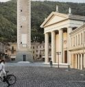 architettura piazza Marconi a Valdobbiadene