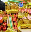 Sequestrate 2,5 tonnellate di botti illegali