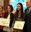 da sinistra Martina Caironi, Laura Dotto, Anna Gallo, Oreste Perri
