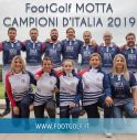 Il Footgolf Motta si laurea Campione d'Italia