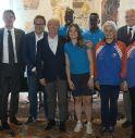 foto di gruppo a Palazzo Rinaldi a Treviso