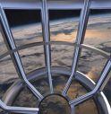 Vista terra dal primo hotel nello spazio