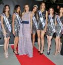 Le miss in gara alla terza selezione di Miss Città Murata