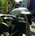 Schianto tra due auto e un camion a Volpago del Montello