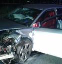 l'auto dell'incidente di San Donà