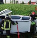 Perde il controllo dell'auto e finisce fuori strada: ferita una ragazza di 19 anni