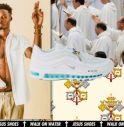 Acqua santa e crocifisso, sold out le Jesus Shoes