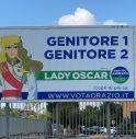 Cartellone Lady Oscar