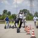 Al via il primo corso di guida per i monopattini elettrici