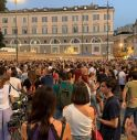 No green pass in piazza, fiaccolata a Roma