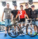 Mattia De Marchi vince per il secondo anno consecutivo l'Ultracycling Dolomitica