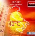 Meteo, escalation del caldo: picchi sopra 40 gradi