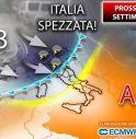 Italia divisa a metà tra grandine e sole: cosa ci aspetta la prossima settimana