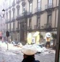 Nubifragio su Catania, auto travolte in piazza Duomo