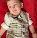 Un bambino di 8 mesi e la sua lotta contro la malattia. L'appello dei genitori per trovare i fondi per la cura