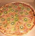 Pizza al kiwi creata da uno svedese