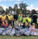 Roncade, l'esercito di 120 volontari ripulisce la città da 3mila litri di rifiuti