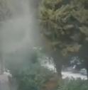 Nuvole di polvere a Conegliano