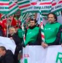 sciopero lavoratori legno arredo