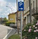 segnali di parcheggio a Valdobbiadene