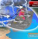 Meteo, ciclone carico di temporali sull'Italia: ecco dove