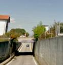 Sottopasso di via Soranza a Sant'Andrea oltre il Muson